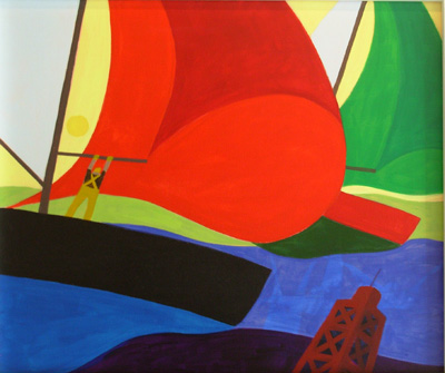 Nautical Painting -Sailing