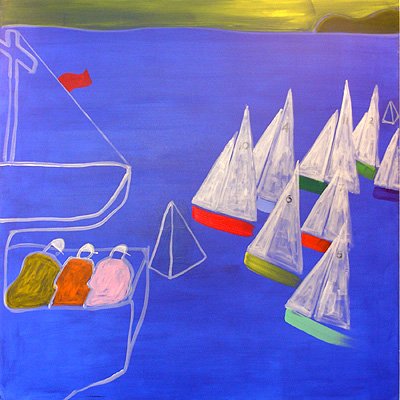Nautical Painting -Fishing