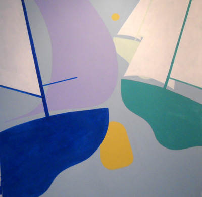 Nautical Painting -Sail Boat